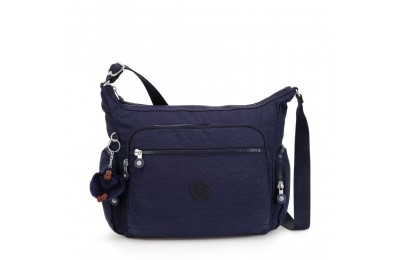 Black Friday 2020 Kipling GABBIE Bolso Mediano Con Correa Ajustable Active Blue Acuerdo