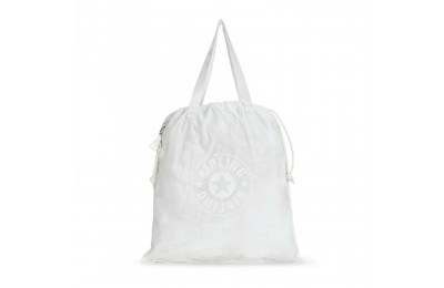 Black Friday 2020 Kipling NEW HIPHURRAY L FOLD Tote Repelente al Agua Lively White Acuerdo