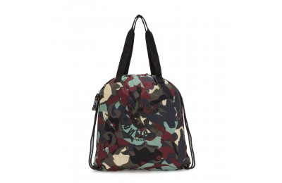 Kipling HIPHURRAY PACKABLE Bolso tote plegable mediano Camo Large Light Acuerdo