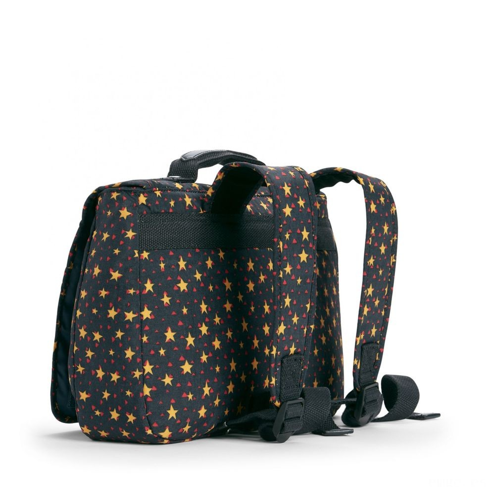 Kipling NEW SCHOOL Mochila Mediana Convertible En Bolso Cool Star Boy Acuerdo