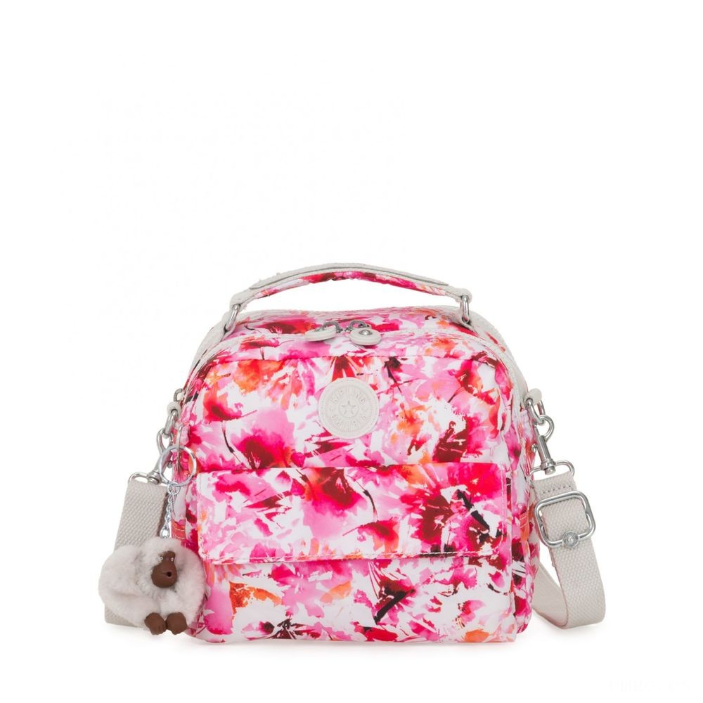 Kipling CANDY Small handbag (convertible to backpack) Floral Poetry Acuerdo