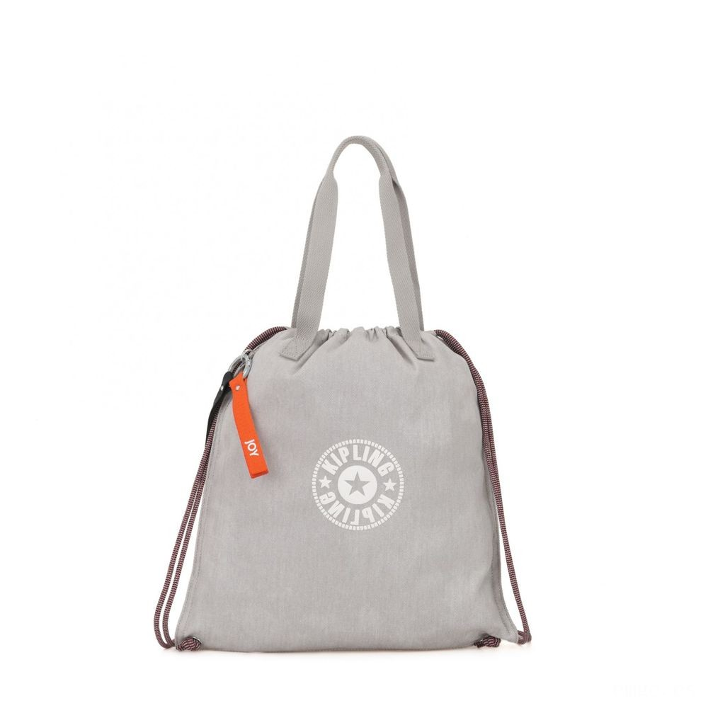 Kipling NEW HIPHURRAY Bolsa pequeña de tejido coloreable Light Denim Acuerdo