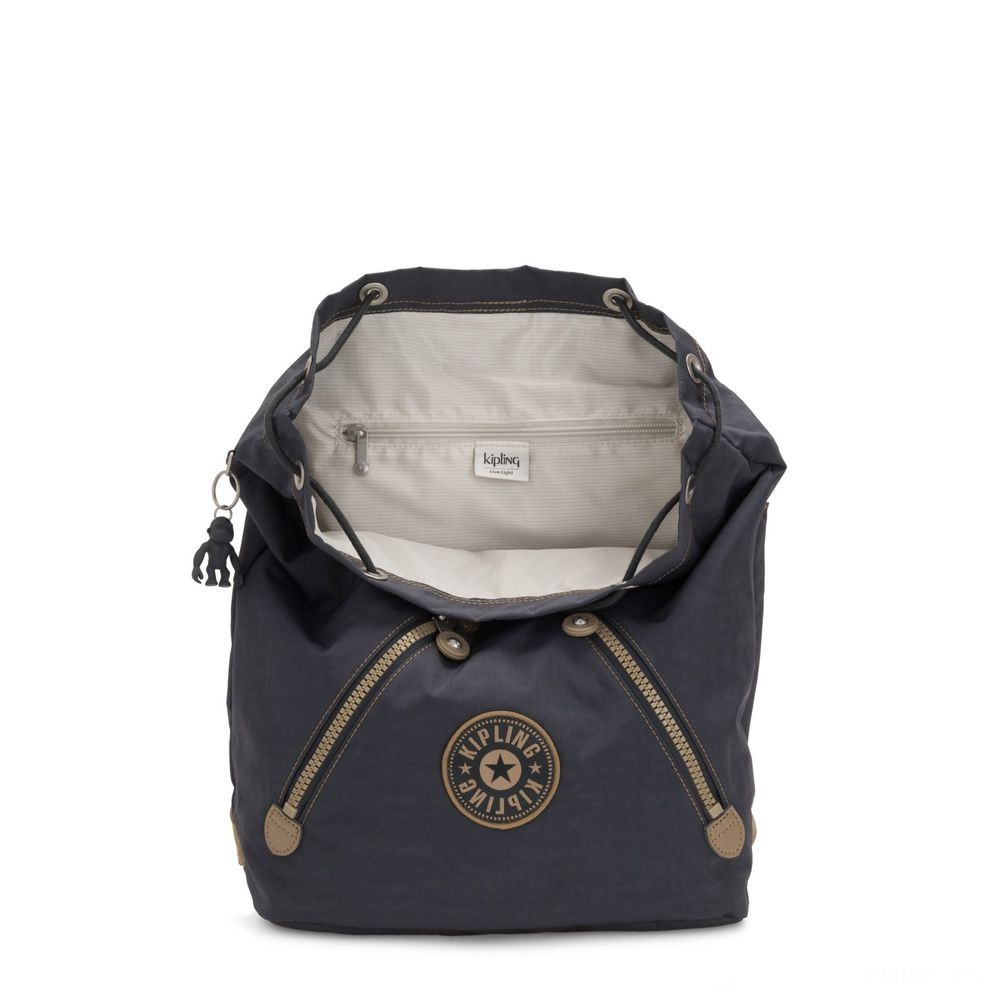 Kipling FUNDAMENTAL Mochila Night Grey Block Acuerdo